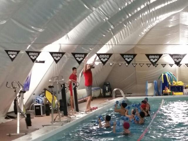 piscina invernale
