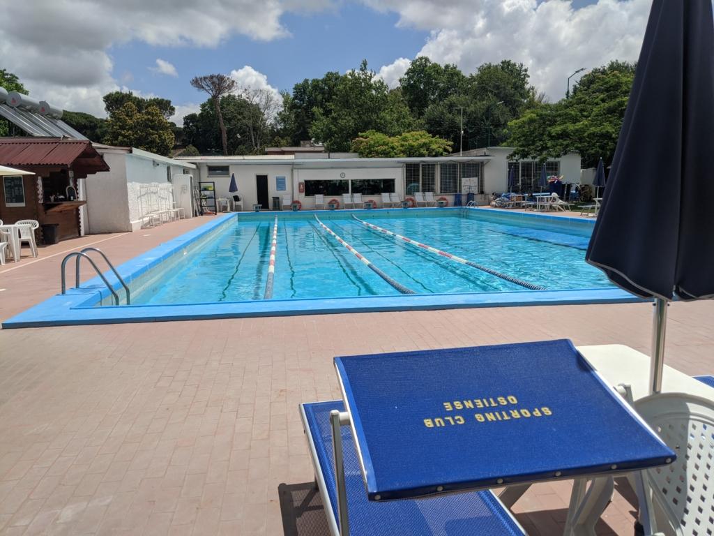 piscina estiva a roma